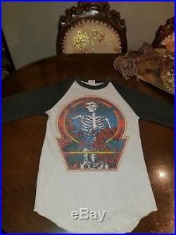 Vintage grateful dead shirt true 1980 rare