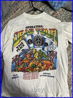 Vintage grateful dead t shirt xl