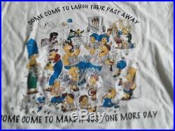 Vintage single-stitch Grateful Dead Simpsons T Shirt