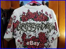 Vintage t shirt Grateful Dead liquid blue xl 1992 gdm