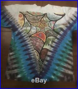 Vintage t shirt Size Large Grateful Dead Liquid Blue White Tag
