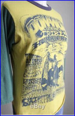 Vtg 1960s Pow Wow Human Be In 60s Grateful Dead LSD Ginsberg Shirt Tee 70s Acid