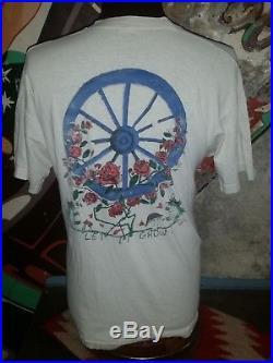 Vtg 1994 GRATEFUL DEAD Patricks Day Concert tye dye rock tour band 90s t shirt L
