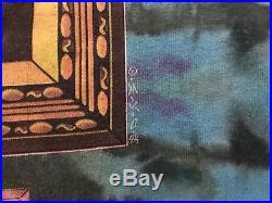 Vtg 1994 Grateful Dead Tie Dye Hippy Cannabis Portrait Concert Tour T-Shirt XL