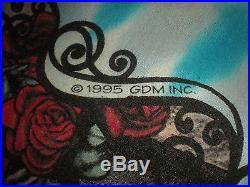Vtg 1995 Grateful Dead 30 Yrs 1965 1995 Tour Concert T Shirt Long Sleeve XL