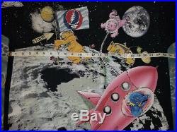 Vtg 1995 Grateful Dead Bears Standing on the Moon 1992 T-Shirt XL