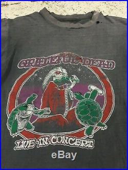 Vtg 70's 80's Grateful Dead King Tut Faded Tour Concert Rock T-shirt Rare M