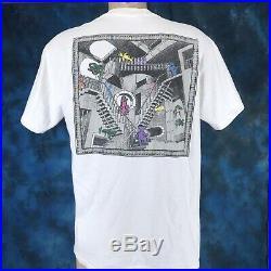 Vtg 90s GRATEFUL DEAD M. C. ESCHER RELATIVITY T-Shirt LARGE mc concert rock art