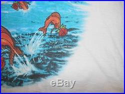 Vtg'93 GRATEFUL DEAD Ship Of Fools BOSTON Garden Tour Concert T-Shirt Mens XL
