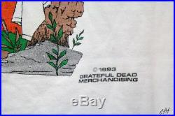 Vtg GRATEFUL DEAD 1993 SUMMER TOUR T-Shirt Mens XL MADE IN USA