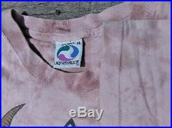 Vtg Grateful Dead Las Vegas Silver Bowl T Shirt 1994 XL Liquid Blue Tie Dye