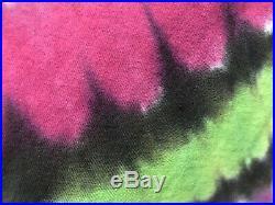 Vtg Grateful Dead Liquid Blue Campbell 1993 Tie Dye Size XL T-shirt (039)