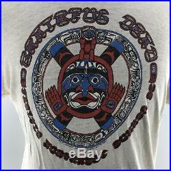 Vtg Grateful Dead Northwest Tribal Shirt 1982 Tour Sportswear Unisex Sz XL G4A