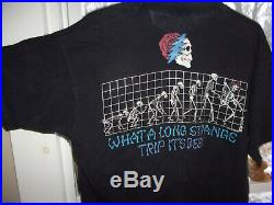 Vtg Grateful Dead Shirt 1993 Jerry Garcia Janis Joplin Phish Pink Floyd