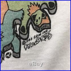 Vtg Grateful Dead T Shirt 90's Escher Optical Illusion Festival Tee Rock Sz M