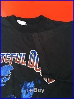 Vtg Grateful Dead T Shirt Psychedelic Rock Blues Folk Rock Rare size M #0144
