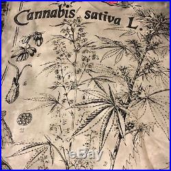 Vtg MOSQUITOHEAD T SHIRT XL MARIJUANA WEED Cannabis Stoner Hippie Grateful Dead