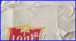 Willie Nelson Lone Star beer Vintage grateful dead t shirt